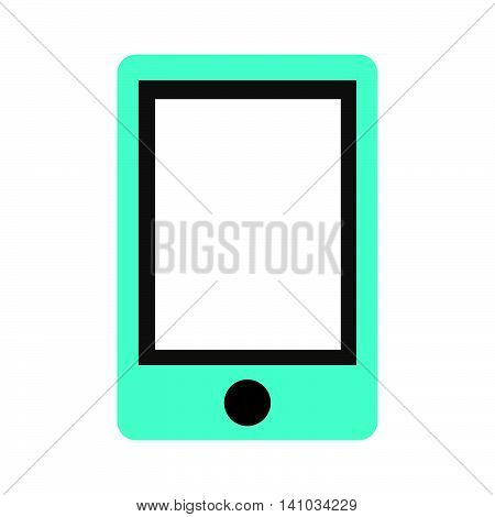 smartphone display wearable icon vector isolated graphic