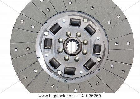 The clutch disc isolated on white background