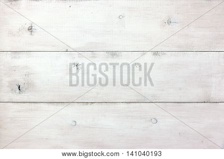 Close Up Of White Wood Planks Panel Background And Texture