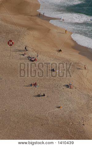 Beach In Nazare Portugal