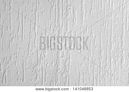White Decorative Polymer Finishing Plaster Or Liquid Wallpaper Background Texture