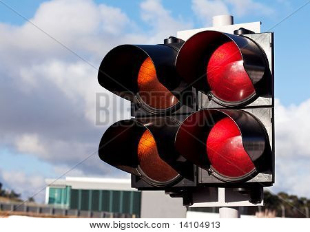 Traffic Lights Of Racing