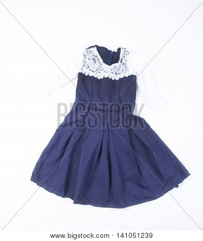Dress Isolated. Dress Isolated On Background. Dress Isolated On A Background.