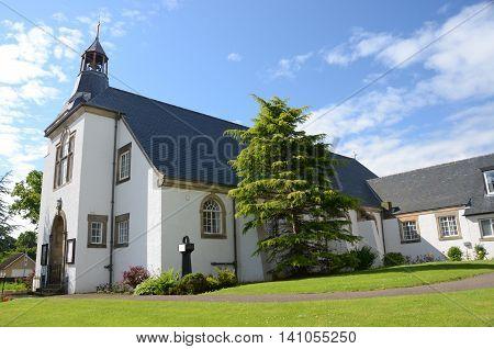 An external view of a church in Rosyth