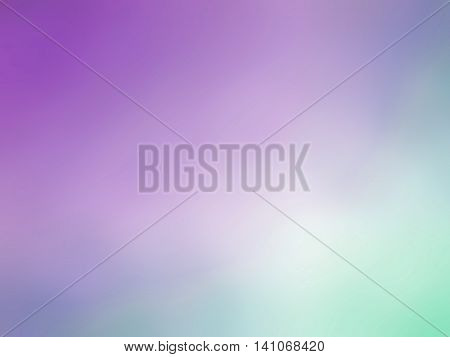 Gradient Purple Blue Teal Colored Blurred Background
