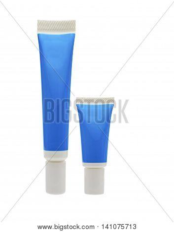 Blue Cosmetic Tube