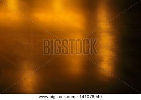 blur dark orange copper gold abstract background