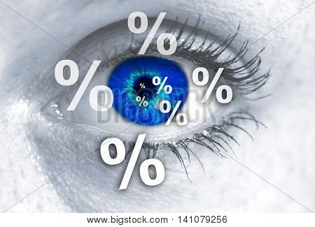 Percent Eye Looks At Viewer Concept Template