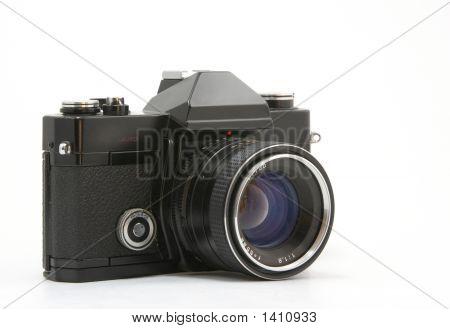 Die alte analoge Kamera für Film