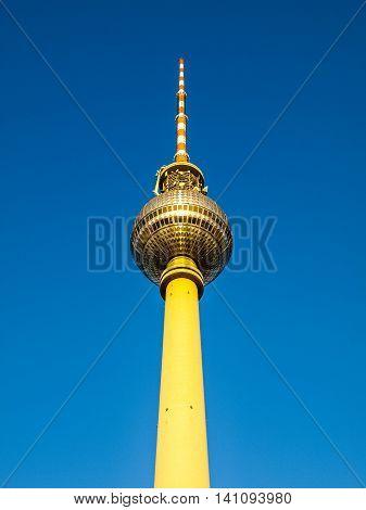 Berlin Fernsehturm Hdr