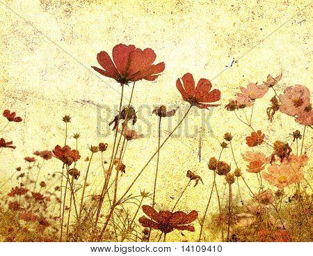 altmodische Blume