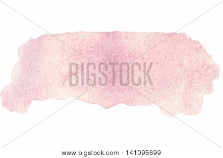 Abstract hand drawn watercolor background. Abstract ink spot textured background template. High resolution watercolour stain