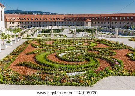 The Baroque Garden Of Bratislava Castle