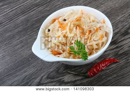 Fermented Cabbage
