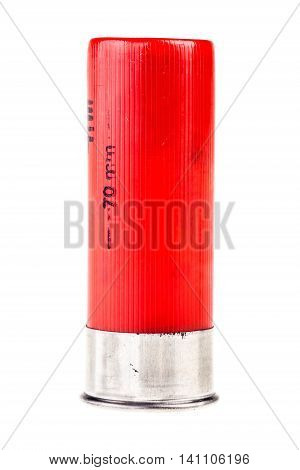 Red Shotgun Shell