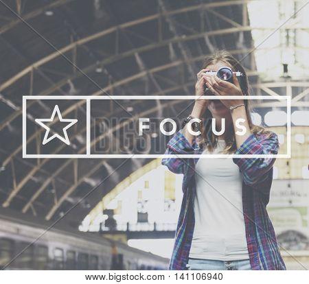 Focus Determine Mission Target Vision Concept