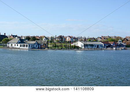 Fairhaven Lake, Lytham St Annes, Lancashire, UK