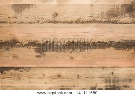 Background from old light wooden whetstones in style a rustic