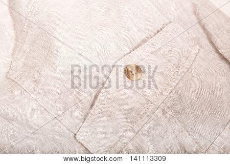 A Closeup of some white linen cloth.