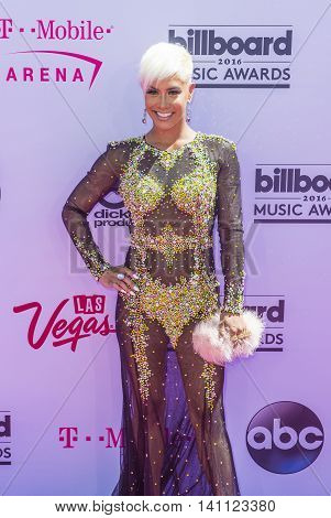 LAS VEGAS - MAY 22 : TV personality Sibley Scoles attends the 2016 Billboard Music Awards at T-Mobile Arena on May 22 2016 in Las Vegas Nevada.