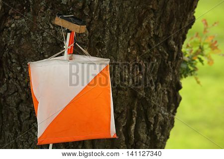 Control Point Sign In Orienteering