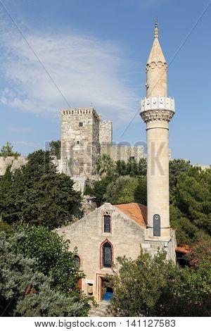 Bodrum Castle In Bodrum Town