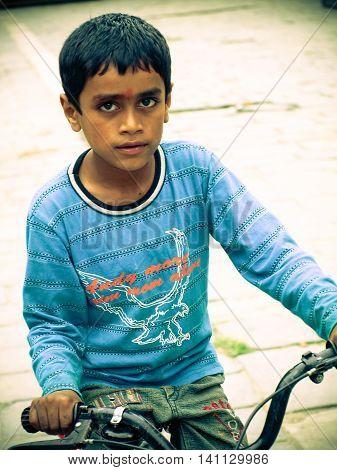 Kathmandu Nepal - 2011 : Boys On The Streets