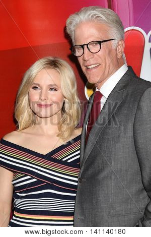 LOS ANGELES - AUG 2:  Kristen Bell, Ted Danson at the NBCUniversal TCA Summer 2016 Press Tour at the Beverly Hilton Hotel on August 2, 2016 in Beverly Hills, CA