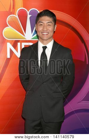 LOS ANGELES - AUG 2:  Brian Tee at the NBCUniversal TCA Summer 2016 Press Tour at the Beverly Hilton Hotel on August 2, 2016 in Beverly Hills, CA
