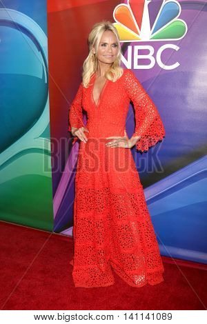 LOS ANGELES - AUG 2:  Kristin Chenoweth at the NBCUniversal TCA Summer 2016 Press Tour at the Beverly Hilton Hotel on August 2, 2016 in Beverly Hills, CA