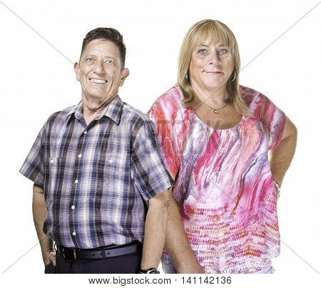Smiling Transgender Man And Woman
