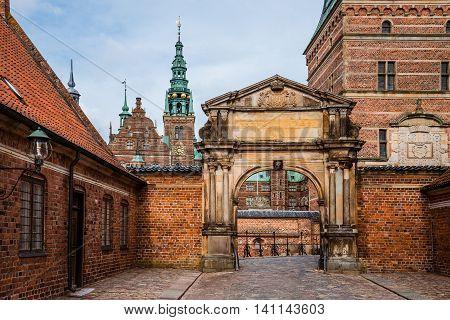 Frederiksborg Castle In Copenhagen