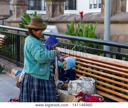 Native People Of Cusco