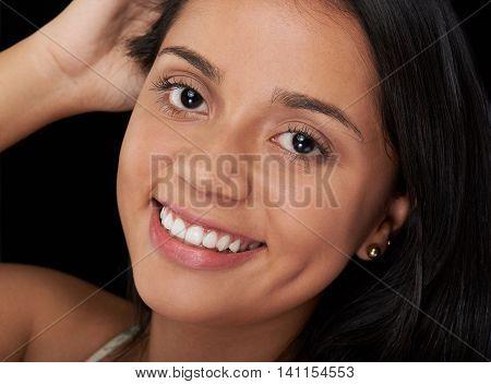 Headshot Of Smiling Girl