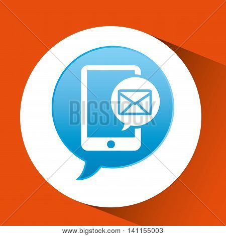 telecommunication support technical service icon, vector illustration