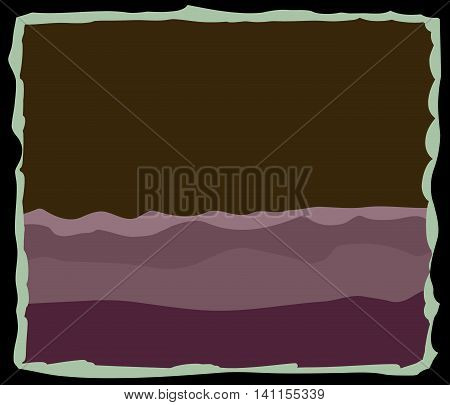 Abstract Purple Mountain Background