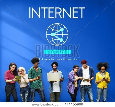 Internet Globalization Technology Connect Concept