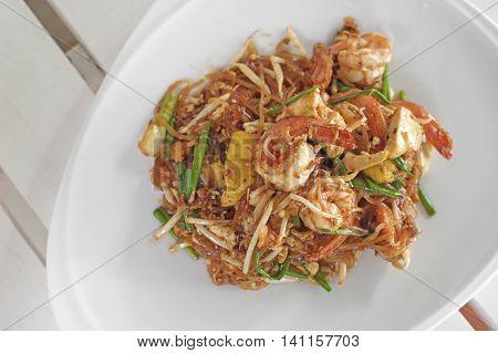Stir-fried Noodles With Shrimp