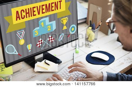 Achievement Accomplishment Vision Development Concept