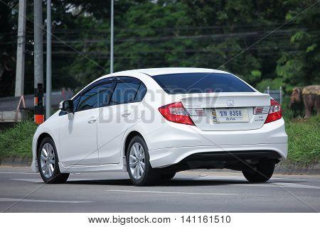 Private Honda Civic.
