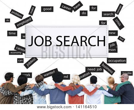 Job Search Career Jobless Occupation Concept