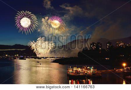 Fireworks Display Vancouver 2016