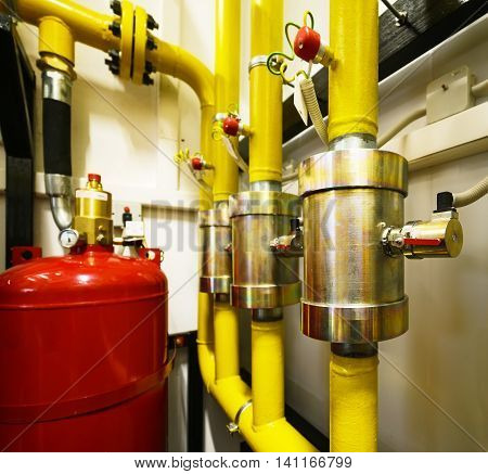 Industrial Extinguishing System.