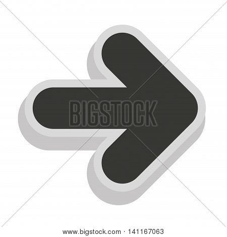 arrows signal index icon vector illustration design