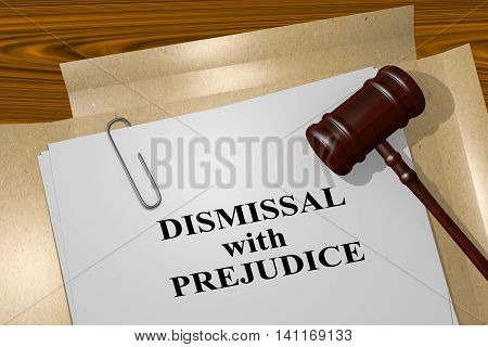 Dismissal With Prejudice - Legal Concept