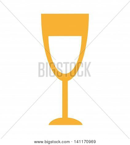 cup wine isolated icon vector illustration design