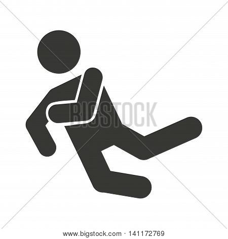 accident insurance isolated icon vector illustration design