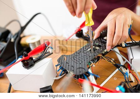 Assembler of drone