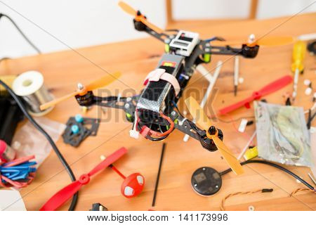 Installation the drone at home