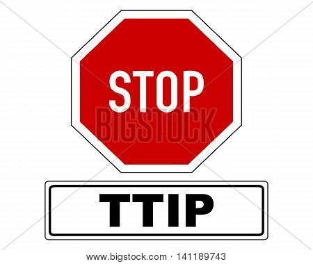 Stop Sign With Added Information
